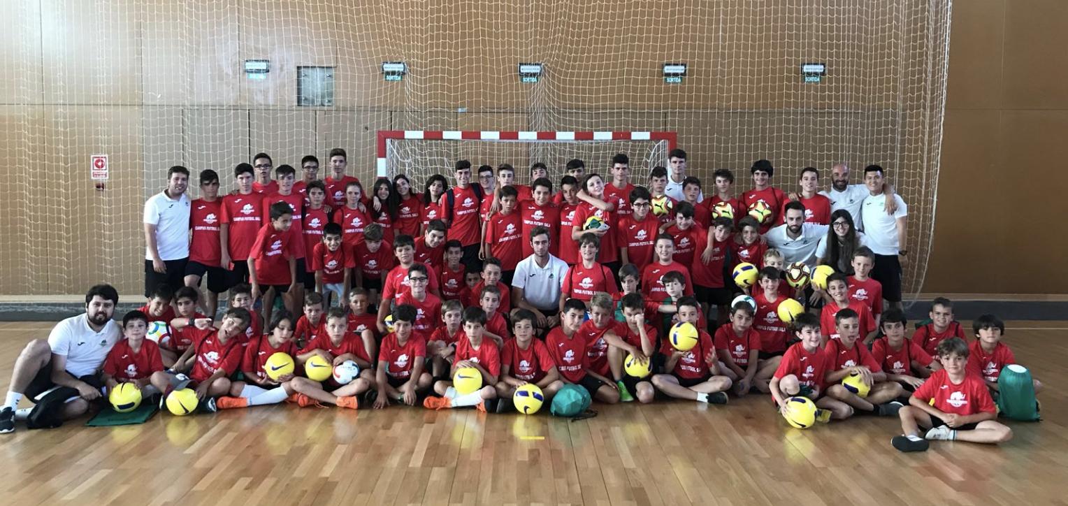 Setmana per recordar al Campus de Futbol Sala Alp 2018